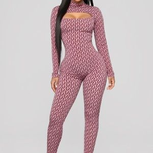 I can wear designer fashion nova jumpsuit